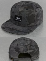 Alpha Industries snapback cap X-Fit zwart