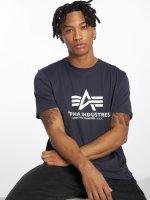 Alpha Industries t-shirt Basic blauw