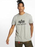 Alpha Industries t-shirt Basic grijs