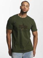 Alpha Industries T-Shirt Basic grün