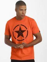 Alpha Industries t-shirt Star oranje