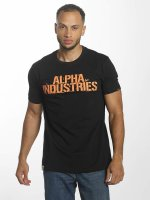 Alpha Industries T-Shirt Blurred schwarz