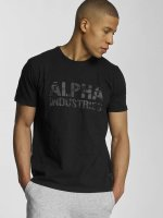Alpha Industries T-shirt Camo svart