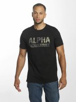 Alpha Industries T-shirt Camo Print svart