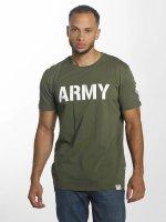Alpha Industries T-skjorter Army oliven