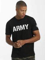 Alpha Industries T-skjorter Army svart