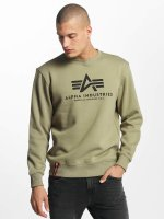 Alpha Industries trui Basic olijfgroen