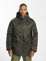 Alpha Industries Winterjacke N3-B PM camouflage