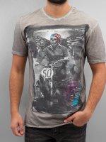 Amplified t-shirt Winged Biker grijs