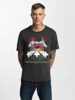 Amplified T-Shirt Metallica MOP gris