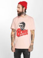 Amplified T-Shirt Bawid Bowie New Romantic Bowie rosa