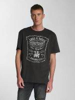 Amplified T-shirts Guns & Roses LA Paradise City grå