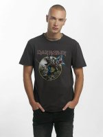 Amplified T-Shirty Iron Maiden Trooper szary