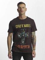 Amplified T-skjorter Guns & Roses Appetite For Destruction grå