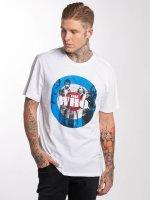 Amplified T-skjorter The Who Target hvit