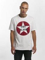 Amplified T-skjorter The Clash Star Logo hvit
