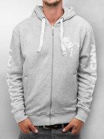 Amstaff Hoodies con zip Logo grigio