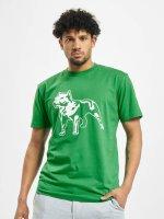 Amstaff t-shirt Logo groen