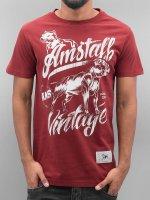 Amstaff t-shirt Farkas rood