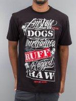 Amstaff T-Shirty Mero czarny