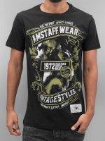 Amstaff T-Shirty Isanto czarny