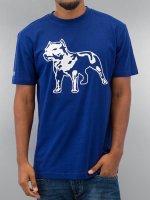 Amstaff T-Shirty Logo niebieski