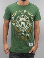Amstaff T-Shirty Malex zielony