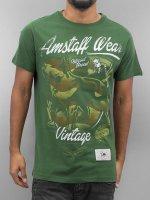 Amstaff Tričká Perro zelená
