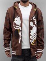 Amstaff Zip Hoodie Namru brown
