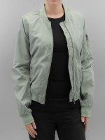 Authentic Style Куртка-бомбардир Sublevel зеленый
