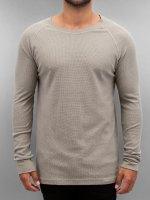 Authentic Style Pitkähihaiset paidat Raglan harmaa