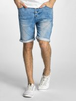 Authentic Style shorts Sublevel Haka Bermuda Jogg Denim blauw