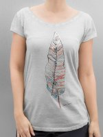 Authentic Style T-Shirt Feather gris