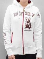 Babystaff Hoodies con zip Sideka bianco
