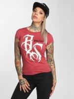 Babystaff T-shirt Isma röd