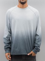 Bangastic Camiseta de manga larga AE189 azul