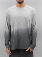 Bangastic Camiseta de manga larga AE189 Oversize gris