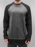 Bangastic Camiseta de manga larga Silas negro