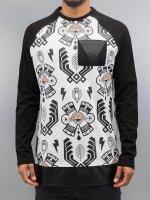 Bangastic Camiseta de manga larga Aztecs negro