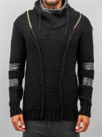 Bangastic Hoody Knitted Force zwart