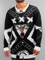 Bangastic Pullover Wolf schwarz
