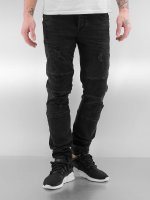 Bangastic Slim Fit Jeans Quilted III èierna