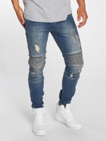 Bangastic Slim Fit Jeans Drew blauw
