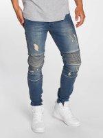 Bangastic Slim Fit Jeans Drew modrá