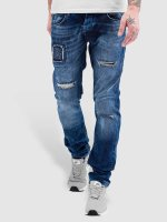 Bangastic Straight Fit Jeans Kush blau