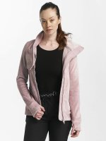 Bench Chaqueta de entretiempo Fleece Funnel rosa