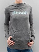 Bench Hoodie Corp Print grå