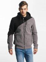Bench Hoodies con zip Fleece grigio