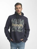 Bench Pullover High Neck blau
