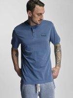 Bench T-Shirt Henley bleu
